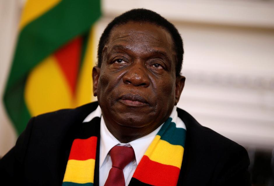 President Emmerson Mnangagwa