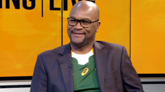 Minister of Sports, Arts and Culture, Nathi Mthethwa on Morning Live.