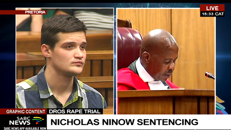 SABC News Nicholas sentencing P 1 - Ninow's alleged access to drugs in prison to be investigated