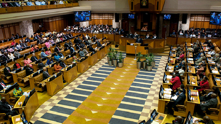 Inside South African Parliament