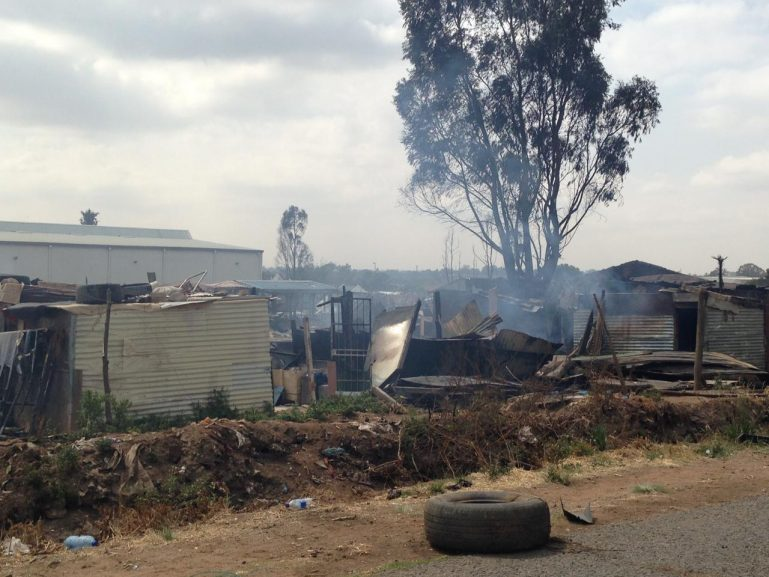 SABC News Pomona NosiphoMncube2 769x577 - Ekurhuleni Metro Municipality continues with relief efforts after Pomona fire
