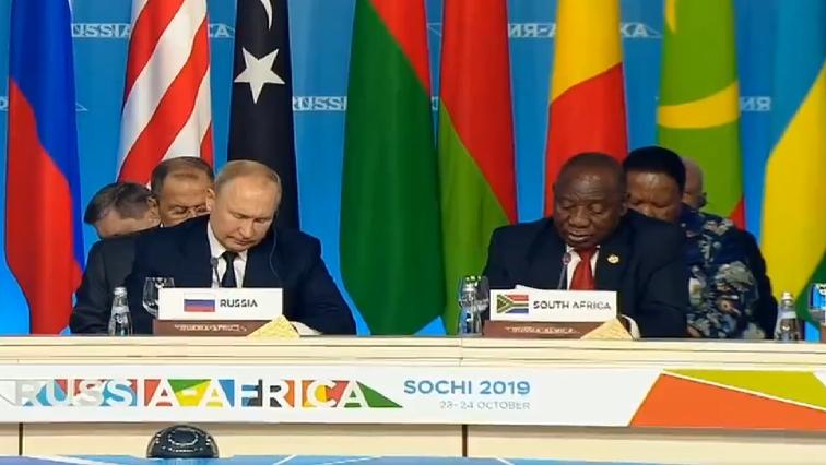 SABC News Ramaphosa Putin @PresidencyZA - Nuclear energy is on the agenda at Russia-Africa summit: Ramaphosa