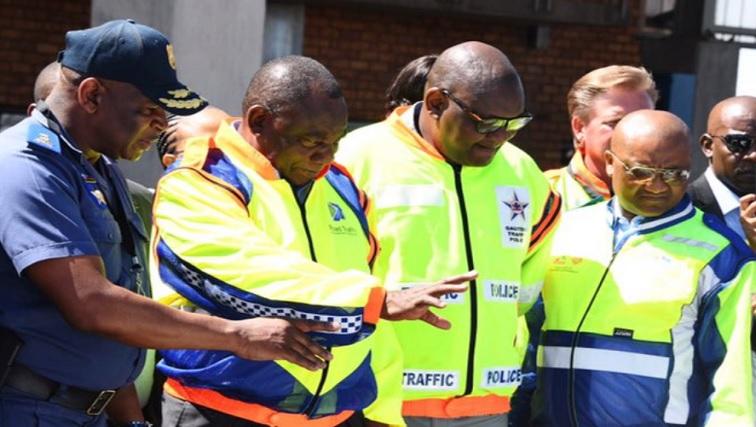 SABC News Ramaphosa.jpg Twitter@ - Operation Okae Molao out to rid roads of lawlessness