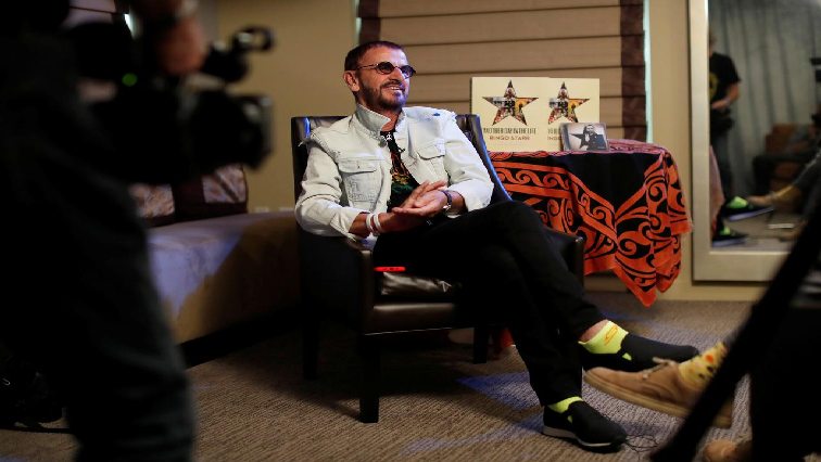 SABC News Ringo Starr R - Ringo Starr 'emotional' as Beatles come together in new recording