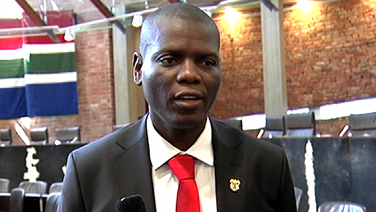 SABC News Ronald Lamola 1 - Justice Dept in process of assisting Cekeshe to get Presidential pardon