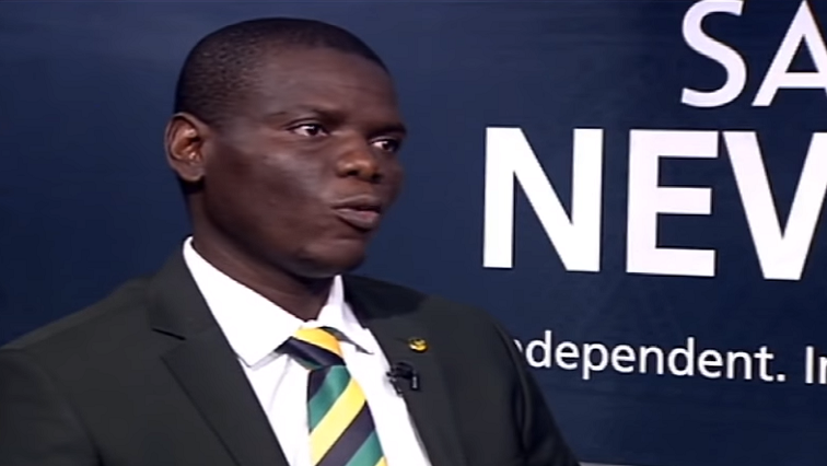 SABC News Ronald Lamola SABC - No blanket amnesty for activists: Lamola
