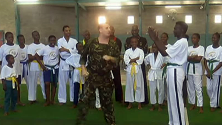 SABC News Taekwondo - World champion Warren Vice in SA to promote Taekwondo