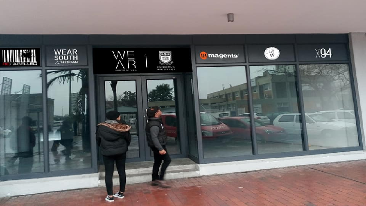 SABC News WearSA store - UWC and WearSA launch retail clothing store at Bellville Campus