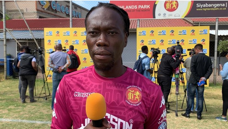 SABC News Yeye SABCIH - Highlands Park players welcome Yeye's timely arrival for MTN8 final