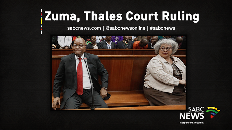 SABC News ZumaThales Live 1 - Application for permanent stay of prosecution in Zuma case dismissed with costs