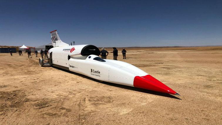 SABC News bloodhoud Twitter @Bloodhound LSR - Bloodhound car to do high-speed testing