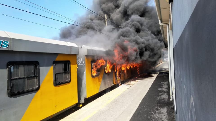 SABC News trains on fire - Investigations underway following train fire