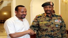 Ethiopian Prime Minister Abiy Ahmed meets the head of Sudan's Transitional Military.