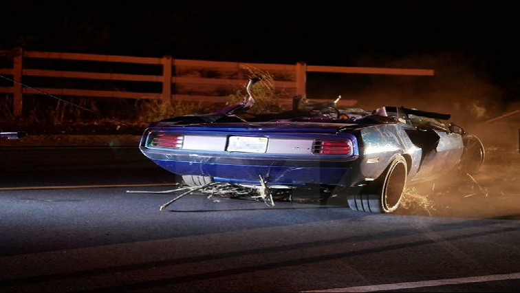 SABC News 1970 Plymouth BarracudaTwitter@stclairashley - Kevin Hart seen for the first time in public since car crash