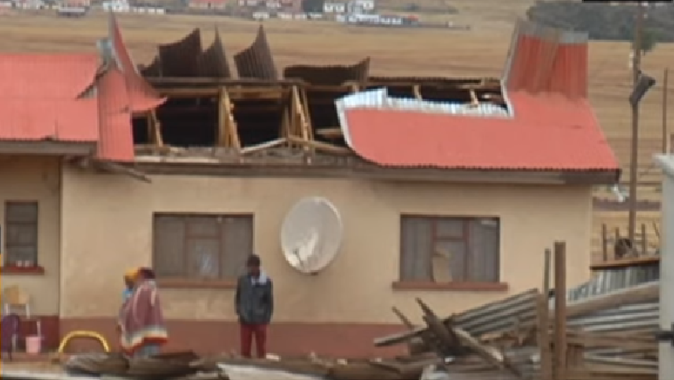 SABC News Cala village house - Manzimdaka residents suffering from storm aftermath