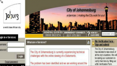 City of Johannesburg hacked
