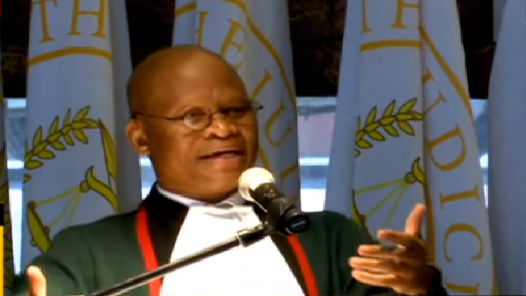 SABC News Mogoeng Mogoeng - Mogoeng defends court ruling on spanking