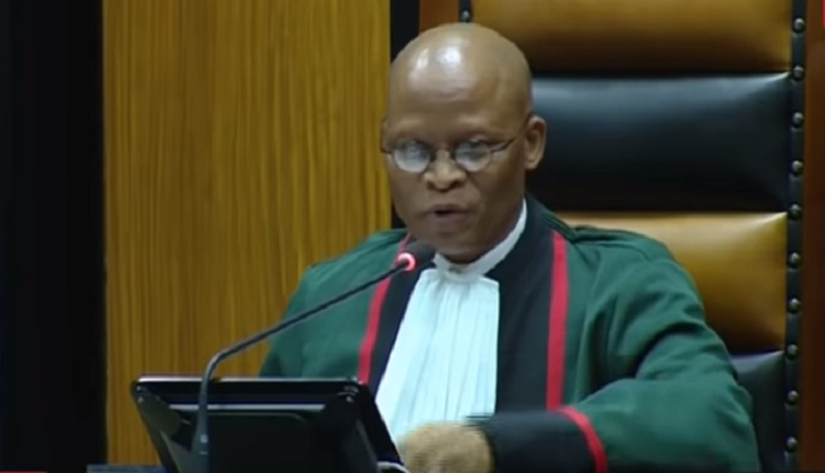 SABC News Mogoeng - Hawks make contact with Mogoeng's office regarding alleged corruption in judiciary