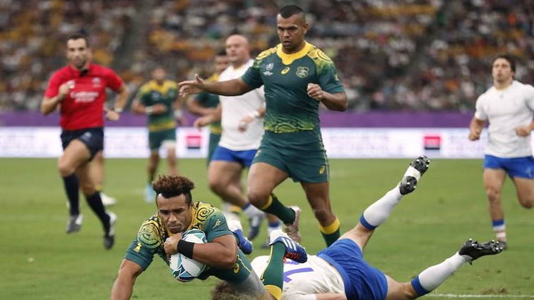 SABC News Will Genia Reuters - Wallabies stamp their authority against Uruguay
