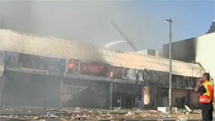 SABC News burnt business - Peddie businesses count losses in the wake of fire