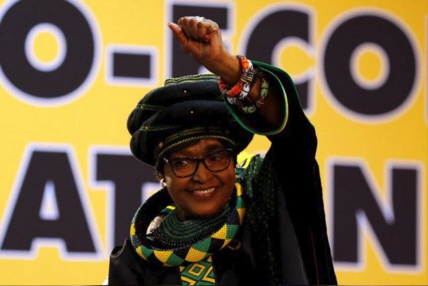 winnieR 862x577 - Madikizela-Mandela conferred with Doctor of Social Work degree
