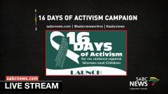 16 Days of Activism LIVESTREAM