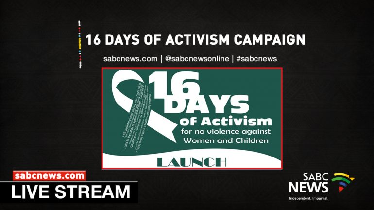 16 Days of Activism LIVESTREAM