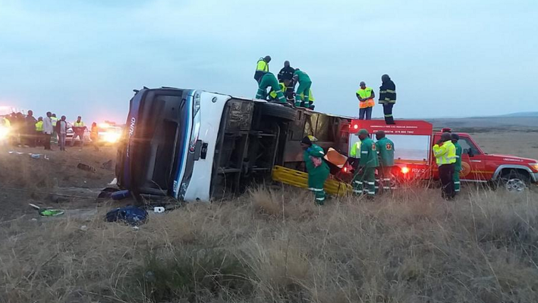 SABC NEws KZN Bus Crash Twitter @ ArriveAlive - Five killed, 42 injured in KwaZulu-Natal bus crash