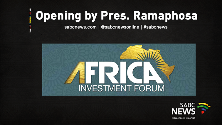 SABC News Africa Live 1 - WATCH LIVE: Africa Investment Conference, 12 November 2019