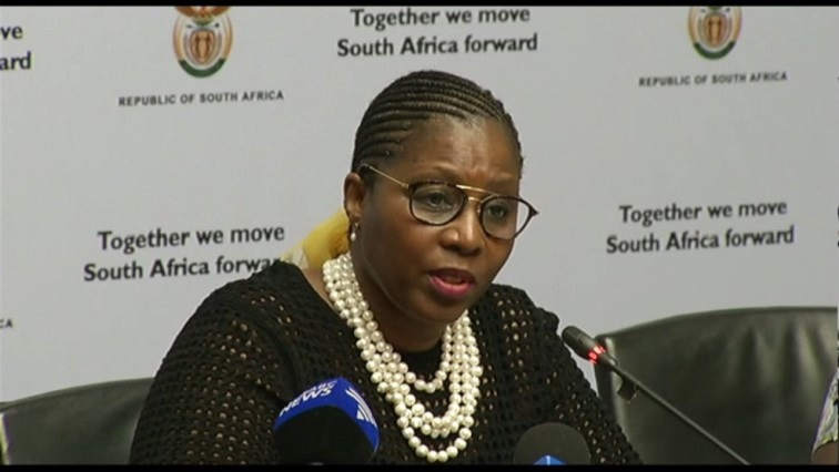 Minister of State Security Ayanda Dlodlo