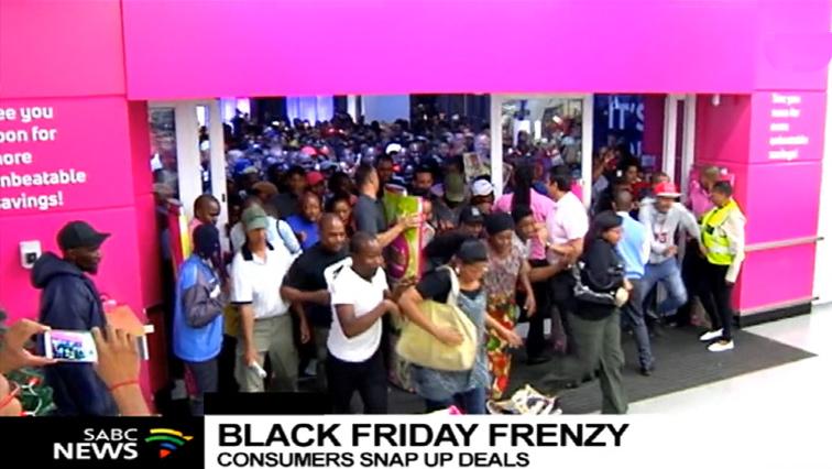 Shops hope for good business on Black Friday - SABC News