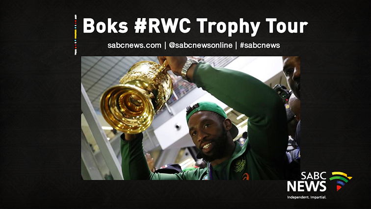 SABC News Bok Tour Live - WATCH: Springboks World Cup Trophy Tour – Pretoria