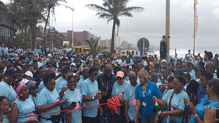 SABC News Durban P - Durban opens Africa's longest beach promenade