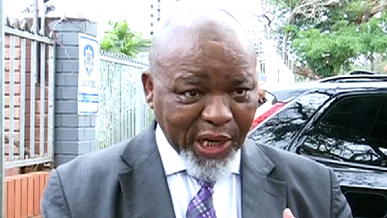 SABC News Gwede Mantashe - BLF opens criminal case against Mantashe
