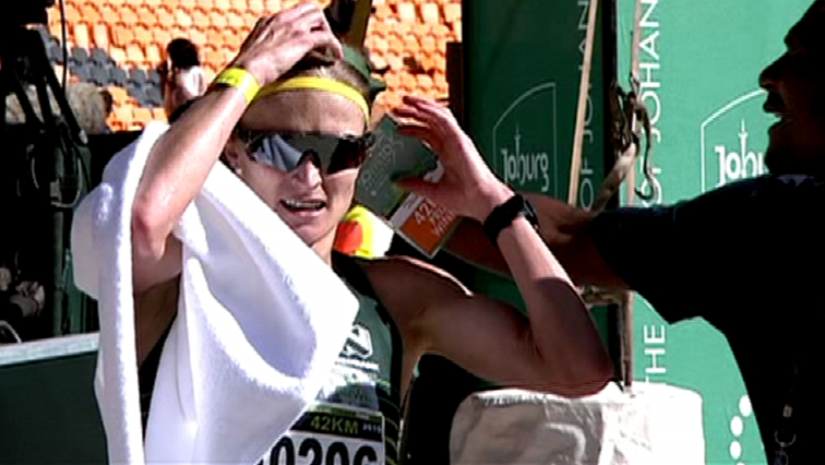 SABC News Irvette van Zyl - Irvette Van Zyl successfully defends her Soweto Marathon title