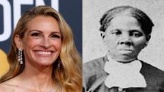 Julia Roberts and Harriet Tubman