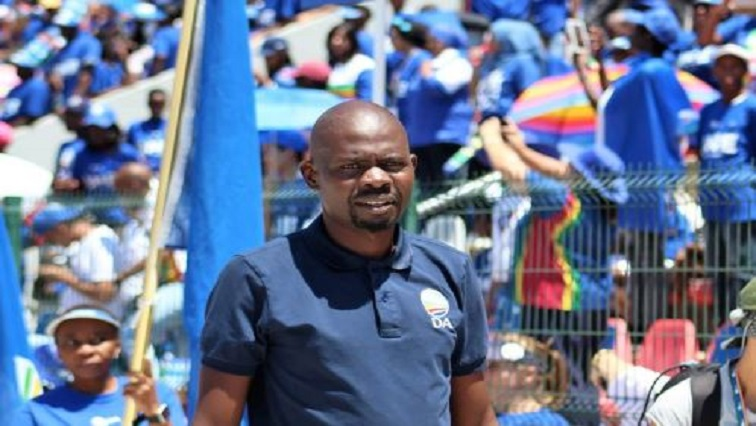 DA member of the Gauteng Legislature Makashule Gana