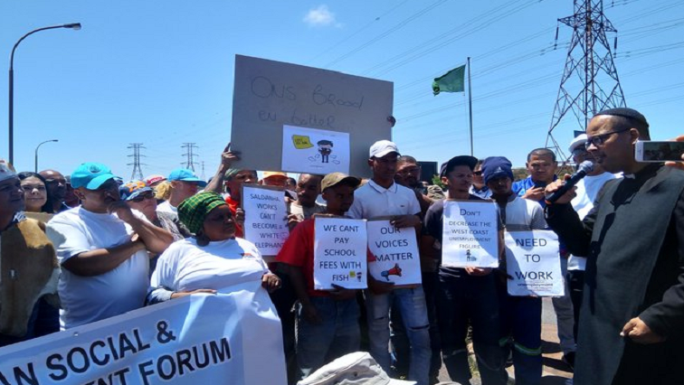SABC News Protest P - Closure of ArcelorMittal will lead to job loses: Protesters