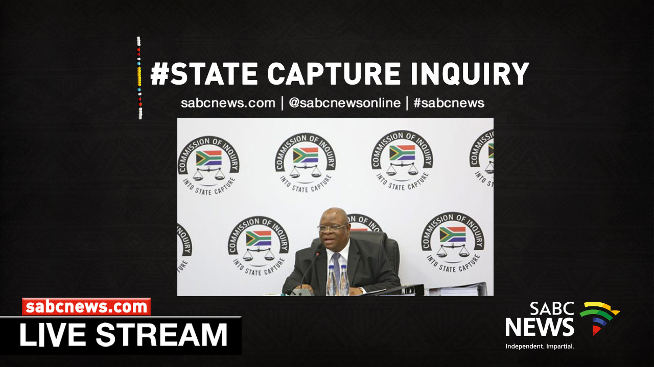 WATCH LIVE: State Capture Inquiry - SABC News - Breaking news, special reports, world, business, sport coverage of all South African current events. Africa's news leader.