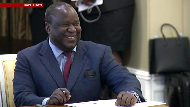 SABC News Tito Mboweni P - This week's major business news: Mid-Term Budget and Eskom Paper