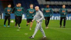 Champions League - Ajax Amsterdam Training