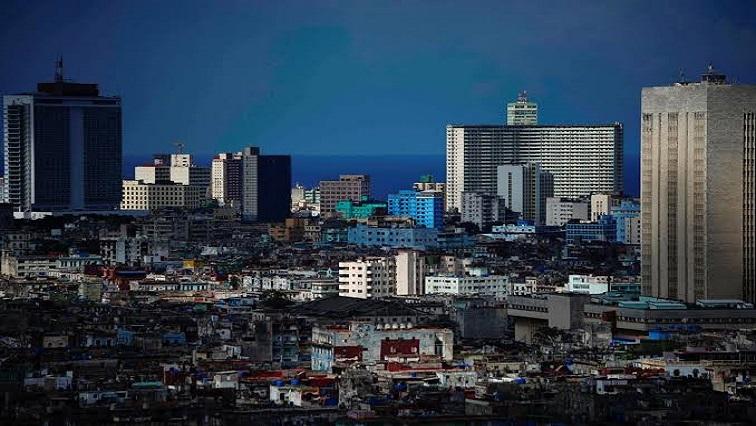 A view of Havana, Cuba,