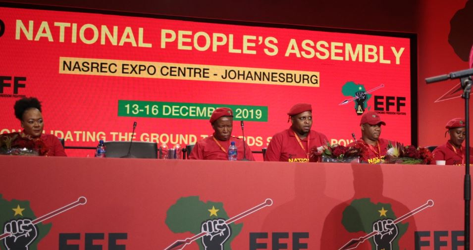 EFF leadership