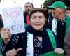 Algerian presidential candidates hold debate as protesters rally