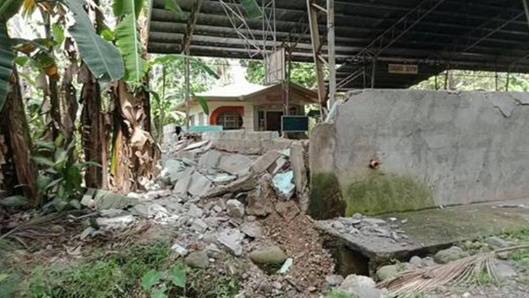 There were no immediate reports of injuries, but the Philippine Institute of Volcanology and Seismology (Phivolcs) said damage and aftershocks could be expected.