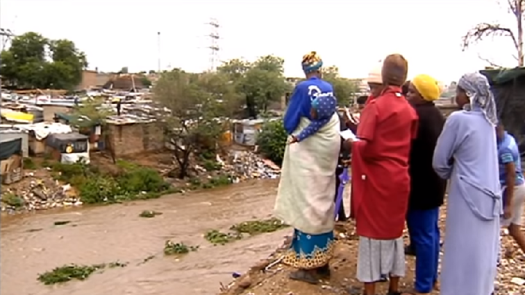 Residents of Eerste Fabriek informal settlement next to the Moretele River say they have lost everything during the floods on Monday.