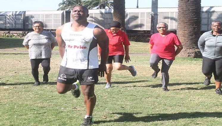 SABC News Gogo P - Durban pensioners keep fit with regular exercises