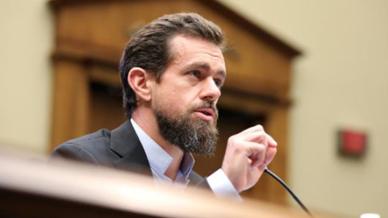 Twitter CEO Jack Dorsey testifies before the House Energy and Commerce Committee hearing on Twitter's algorithms and content monitoring on Capitol Hill in Washington.