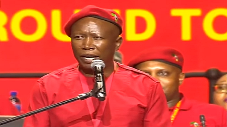 SABC News Juluis Malema - Malema accuses ANC of delaying the process of land expropriation