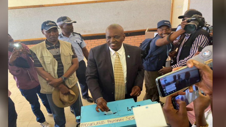 The BDP of President Mokgweetsi Masisi won the election in October with 38 seats - automatically making their candidate president.